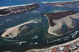 Photo of the Gold Coast broadwater